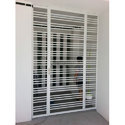 Mild Steel Modern Window Grill