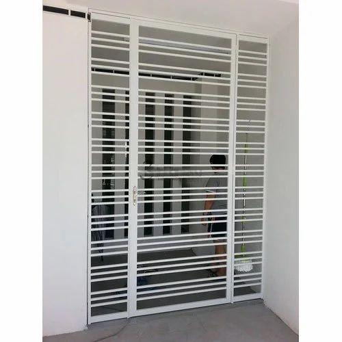Mild Steel Modern Window Grill, Rs 100 /kilogram, Murugan