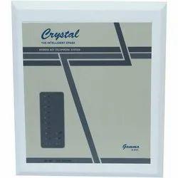 Mild Steel 50 Hz Crystal EPABX Inspire Intercommunication System, 220 V
