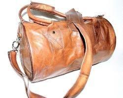 Goat Leather Duffle Bag