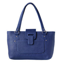 Ladies Designer Blue Shoulder Bag