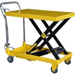 SS Hydraulic Lifting Trolley