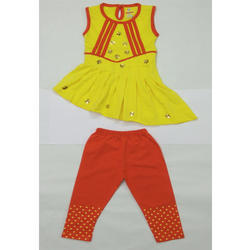 Baby Girl  Designer Top And Pant
