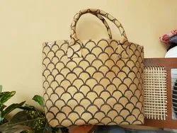 Block Printed Ladies Bag