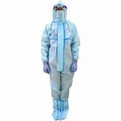 Oriley Orpp02 Ppe Kit With Coverall Suit, Face Shield, Mask, Hand Gloves & Shoe Cover