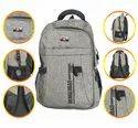 Grey Shoulder Backpack