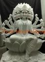 Marble Temple Goddess Statue