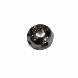 Half Round Silver Plastic Pony Beads