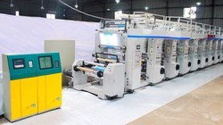 Rotogravure Printing Machine 8 Colour