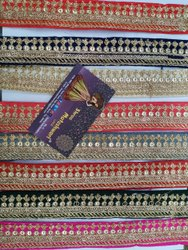 White Cotton Nylon Embroidery Lace for Garment