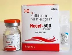 Hecef 500 mg Injection IP
