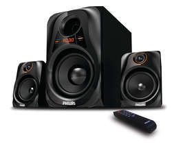 Black Philips Music System Boxes
