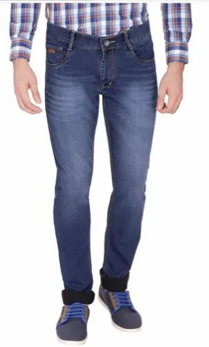 purchase cheap wholesale online for whole family Blue And Black Denims Slim Fit Mens Jeans, Waist Size: 30 And 34 ...