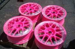 Fluorescent Powder Coatings