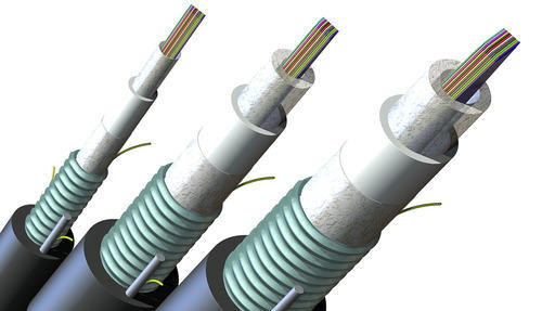 Number of Core: 3 Core Optical Armoured Fibe Cable