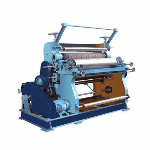 Single Face Vertical Type Paper Corrugation Machine