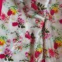 Crepe Silk Digital Floral Printed Saree With Blouse Piece