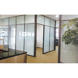 Plain Office Glass Partitions