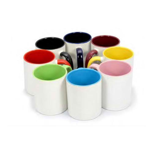 Inside Color Sublimation Mugs