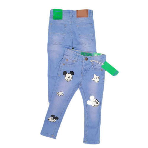 ddc44d906 Boys Kids Denim Funky Blue Jeans, Rs 250 /piece, Shubhagya Creation ...