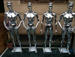 Chrome Male Mannequin