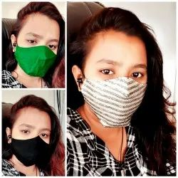 Reusable Women Face Mask, Number Of Layers: 2