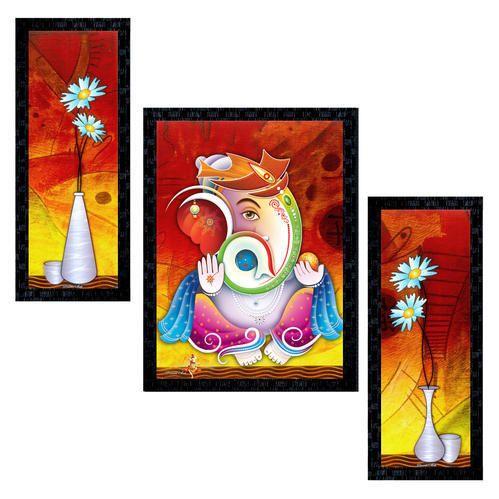 Lord Ganesha Modern Art
