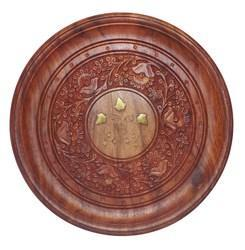 Brown Serving Plate, Size/Dimension: 10 X 10 X 1
