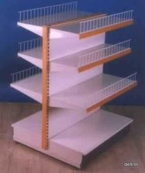 Double Sided Gondola Shelving