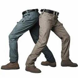 Cotton Plain Men Cargo Pant