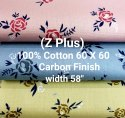 Cotton Printed Shirting Fabrics (Carbon Finish)