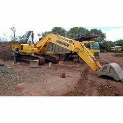 Used Machine Komatsu Excavator, Excavator Model: PC200-6