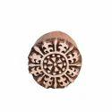 Flower Henna Wooden Print Block