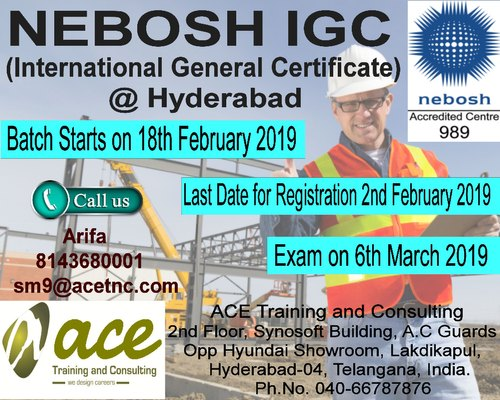 Nebosh Course - NEBOSH IGC School / College / Coaching / Tuition