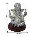 Silver Plated Ganesha Statue Corporate Gift