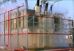 High Velocity Water Spray System