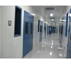 E-Pack Polymers Clean Room Panels with SS Sheet, For Hospital, Powder Coated