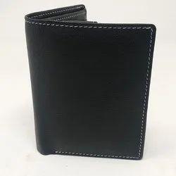 Black Mens Leather Wallet