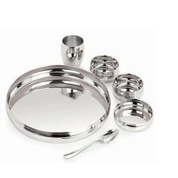 Steel Dinnerware Set