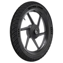 Rubber CEAT Secura Zoom Bike Tyre