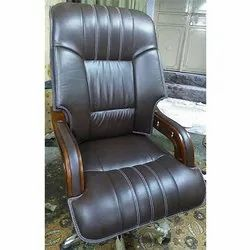 Care Black Leather Designer Chair, for Office