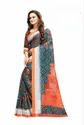 Sagun Digital Printed Linen Saree