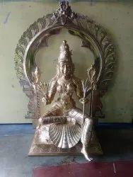 Bronze Idols - Raja Rajeswari 14 inches