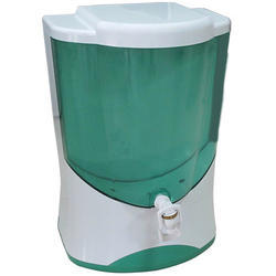 White-Green Dolphin RO Water Purifier