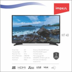 Impex IXT 40 inches Television