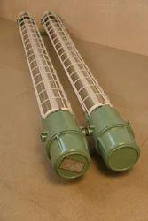 Flameproof LED Tube Light Fitting