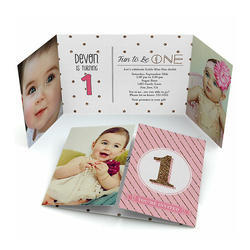 Personalized Photo Invitation Card