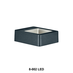 Ceramic Cool White Outdoor Wall Light