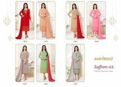 Aashirwad Saffron Vol-2 Designer Long Suit