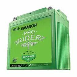 Amaron APBTZ9R Bike Battery, Warranty: 48 Months, Capacity: 8 Ah